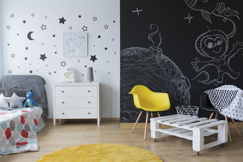 Kolor ścian w pokoju dziecięcym